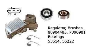 Amazon.com: Alternator Rebuild Kit; Regulator, Brushes