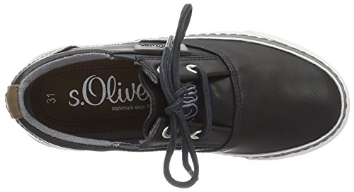 s.Oliver 43100, Zapatillas para Niños Azul (NAVY 805)