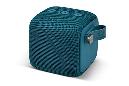 Fresh 'n Rebel Rockbox Bold S Waterdichte IPX7 Bluetooth Speaker Petrol Blue, 8.2 x 8.2 x 8.4 cm