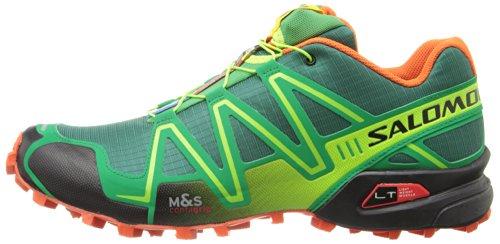 another chance 2dde0 bddce Salomon Men s Speedcross 3 Trail Running Shoe,Bottle Green Sinople ...