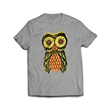 Lopopo Eye Popping Pretty Owl Funny T Shirts
