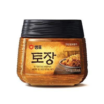 Sempio Premium Soybean Paste(Doenjang, Tojang) 450g 1EA- 샘표 프리미엄 된장-시골집 토장 450ml