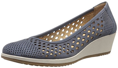 Naturalizer Women's Brelynn Wedge Pump, Spring Denim, 8.5 M (Naturalizer Wedge Shoes)
