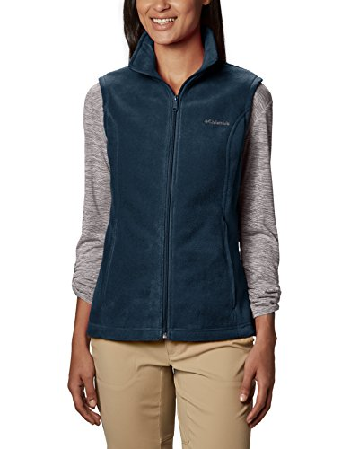 Columbia Women's Benton Springs Vest, Navy, - Fleece Vest Navy