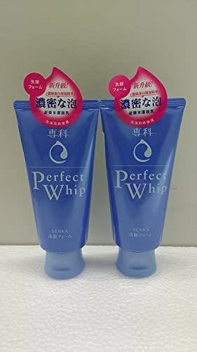 SHISEIDO FT SENGANSENKA PERFECT WHIP FACIAL WASH (4.2oz/120g) 2 set