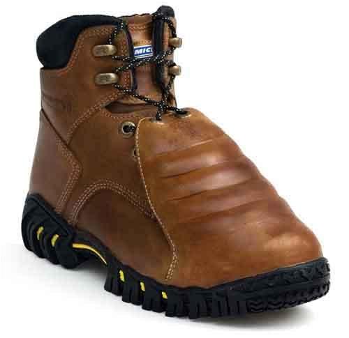 Work Boots, 10, Wide, 6inH, Brown, PR