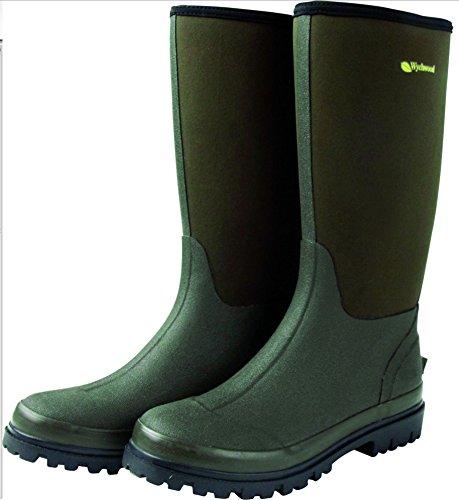 Wychwood Neopren 3/4 Länge Wasserdichte Stiefel Größe UK 12