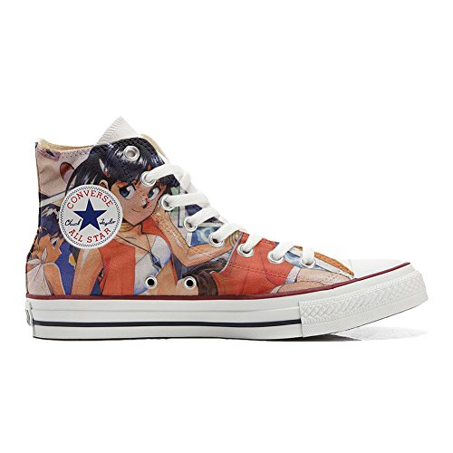 Converse Customized Chaussures Coutume (produit artisanal) Japon Cartoon FeA3LZRf