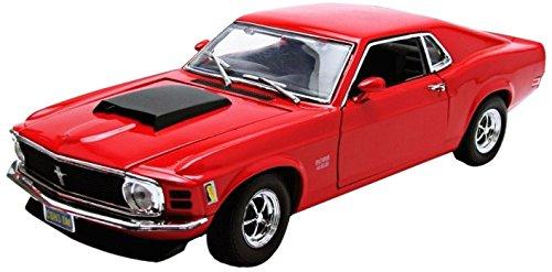 Motormax 1:18 1970 Ford Mustang Boss 429 Vehicle, Assorted - Mustang Boss 429 Model