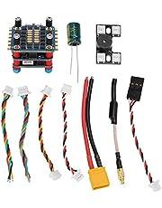 RC Flight Controller,Mini F4 Flight Control 4‑in‑1 ESC 400mW Image Transmission V2.1 for FPV Racing Drone