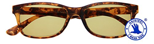 I NEED YOU Reading Sunglasses Havanna Classic Sunrise Designer UV Protection For Outdoor, Party - Durable Comfort Wearing With High-Quality Spring Hinges & Rx Magnification - Branded Sunglasses Latest