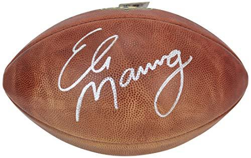 Giants Eli Manning Authentic Signed