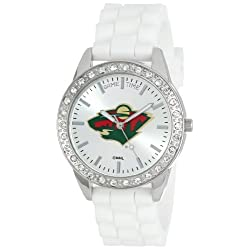 Game Time Women's NHL-FRO-MINFrost Watch - Minnesota Wild