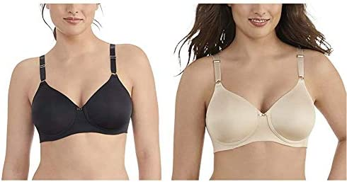 Vanity Fair Women's Beauty Back Smoothing Wirefree Bra