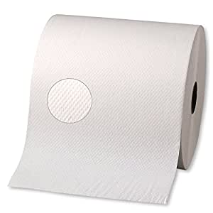 """Georgia-Pacific 28055 Signature Premium High Capacity Paper Towel Roll, 2-Ply, 7.87"""" Width x 600' Length, White (Pack of 12)"""