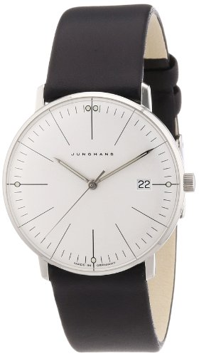 Junghans Women's Quartz Watch Max Bill 047/4251.00 with Leather Strap (Max Bill Watch)