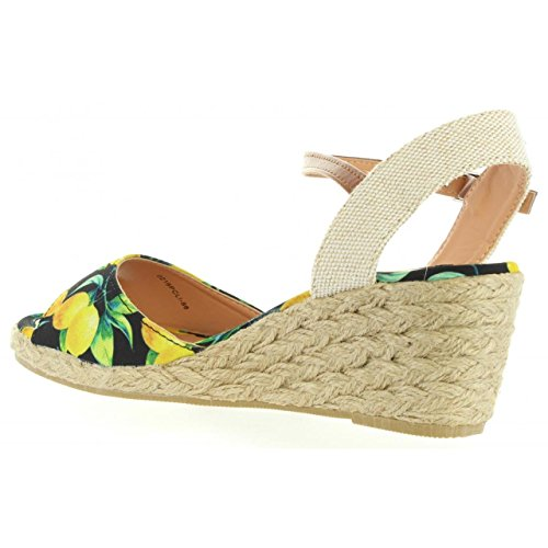 Sandales pour Femme MTNG 53521 C30483 LIMONI NEGRO