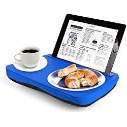 """Navitech Teal Blue Lap Stand / Tray ForThe Fire Tablet with Alexa, 7"""" Display, 8 GB, Black, Blue, Magenta, Tangerine"""