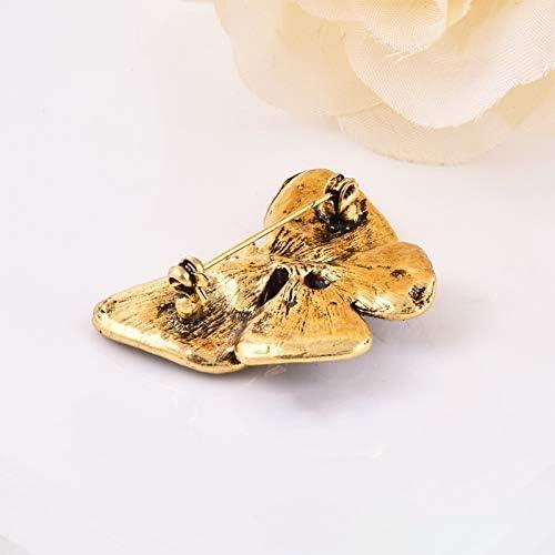 Ogquaton Broche pour les femmes Broches Broches Clips de broche V/êtements D/écoration Colorful Broche papillon Portable et utile