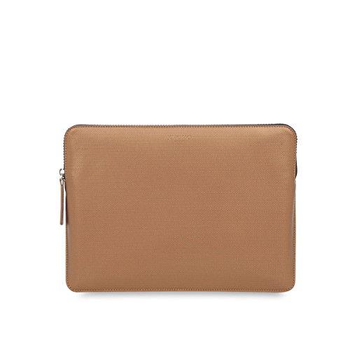 Knomo Embossed Sleeve 30,48cm (12pulgadas) cobre passend marrón