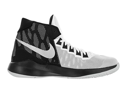 US Metallic Basketball Men Shoe Nike Mens 11 Black 5 Zoom Silver Devosion White q7ISw