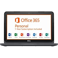 """2018 Flagship Dell Inspiron 11.6"""" HD LED Business Laptop - AMD A6-9220e Dual-Core up to 2.4GHz, 4GB DDR4, 32GB SSD, Free1-yrOffice365Personal, AMD Radeon R4, HDMI, Webcam, Wi-Fi, USB 3.0, Win 10"""