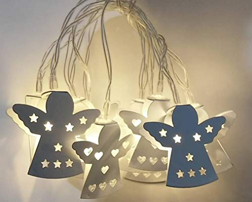 Heezi 10LED Fairy String Lights, 5FT/1.5M AA Battery Operated Lights String for Wedding, Birthday Party, Photo Wall, Bedroom, Festival Decoration by Heezi