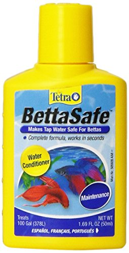 Betta Complete Water Conditioner (Bettasafe Water Conditioner, Neutralizes Chlorine, Chloramines & Heavy Meatals in Tap Water)