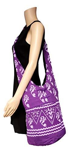 Mermaid Crossbody Hippie Sling Bag Boho Purple Indonesia 76Y4dqPc