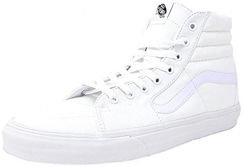 Vans Mens Sk8-hi (tm) Core Classici True White