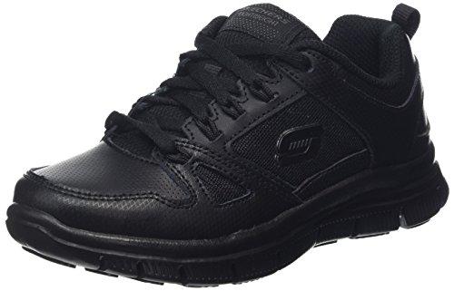 Advantage Bbk Garçon Running Compétition Chaussures Flex black Noir Skechers De OSBqq