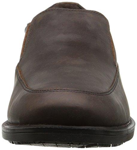 Rockport Heren Essential Details Waterproof Instappers Loafer Dark Tan Crazy Horse