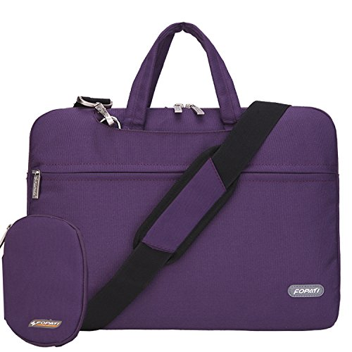 Laptop bag 14 inch, FOPATI 14 - 14.1 Inch Laptop Sleeve Case Briefcase Shoulder bag Messenger bag for 14