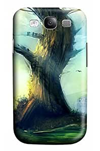 Cute Tree Designed PC Materical DIY Phone Case for Samsung s3/i9300