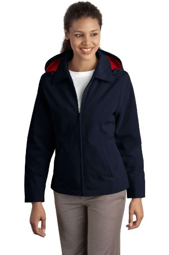 Port Authority - Ladies Legacy Jacket. - Dark Navy/Red - L