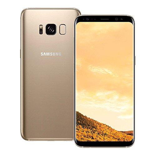 Cheap Samsung Galaxy S8 SM-G950FD 4GB RAM / 64GB ROM 5.8-Inch 12MP 4G LTE Dual SIM FACTORY UNLOCKED – International Stock No Warranty (MAPLE GOLD)