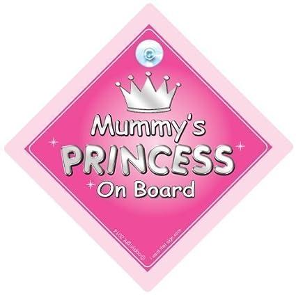 de momia princesa a bordo señal de coche, PRINCESA A BORDO ...