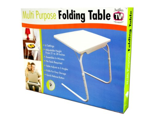 Multi-Purpose Folding Table - Pack of 2 by bulk buys