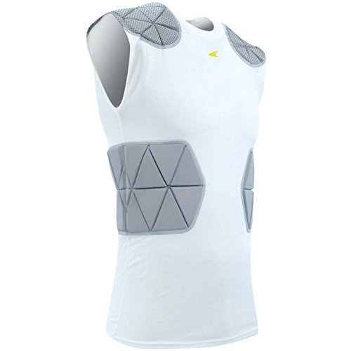 Champro Dri Gear Football - CHAMPRO Tri-Flex Football Compression Shirt with Cushion System