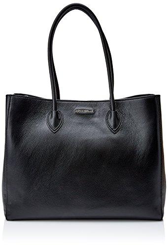 Black DOUBLE SHOULDER SHOULDER FARISA BG5110101 Noir FARISA BAG DOUBLE BAG COCCINELLE COCCINELLE TWf7wfvRq