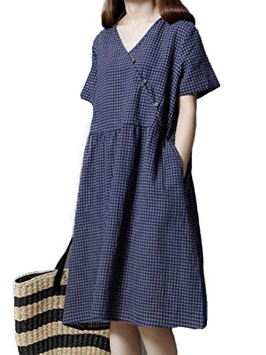 buttoned summer dresses - 7