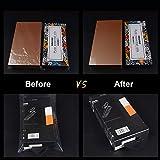 Shrink Wrap Bags,100 Pcs 8x12 Inches PVC Heat