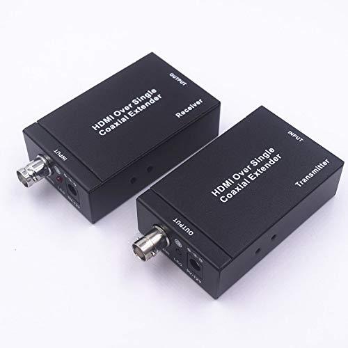 Cable coaxial Individual HDMI Extenderover con IR 100M-NK-C100IR Soporte IR Extensor de Control Remoto Negro: Amazon.es: Electrónica