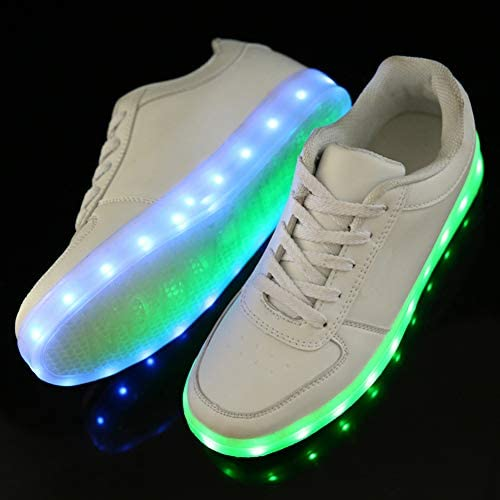 Rojeam Led Shoes Light Up Trainers for Boys Girls - 4