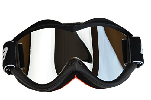 Vega Helmets Special Edition Unisex-Adult Off Off Road Goggles Matte Black One Size