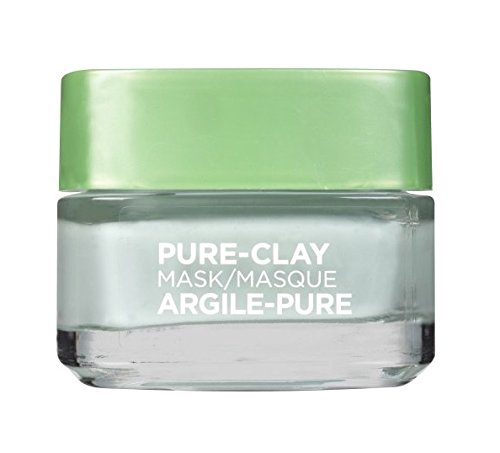 L'Oreal Skin Expert Pure Clay Purify & Mattify Mask, 1.7 ...