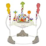 Dream On Me Zany Activity Center Bouncer in Elephant Print