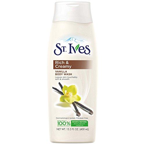 St. Ives Rich & Creamy Vanilla Body Wash 13.5 oz
