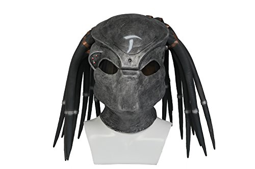 Durable Predator Face Helmet - 4 Styles