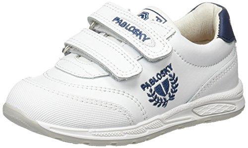 265502 Blanc Fitness Chaussures Mixte Enfant Blanco Pablosky 265502 de nW8vA